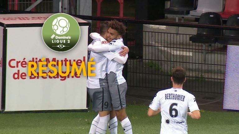 Ligue 2. Guingamp et Lorient tombent à domicile [Vidéo]