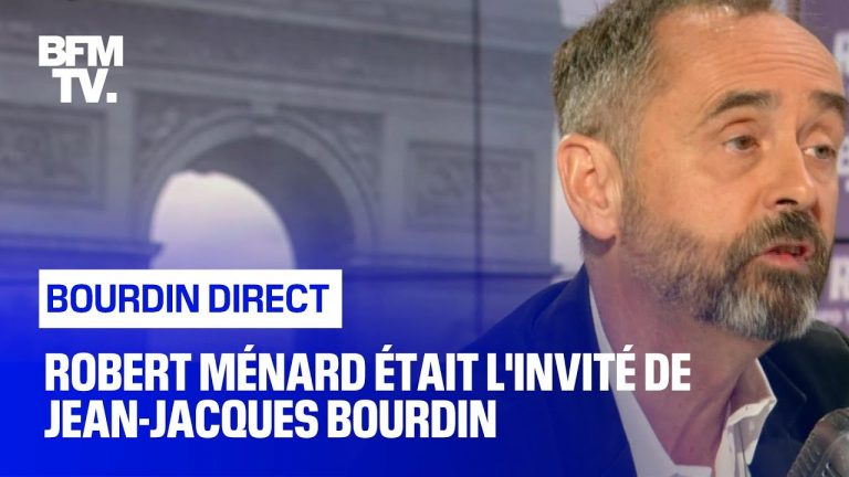 Robert Ménard au tribunal de Jean-Jacques Bourdin [Vidéo]