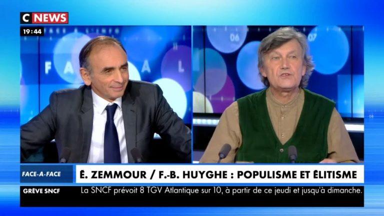 Zemmour : « Des peuples européens sont en danger de mort par ce qu'on appelle le grand remplacement » [Vidéo]