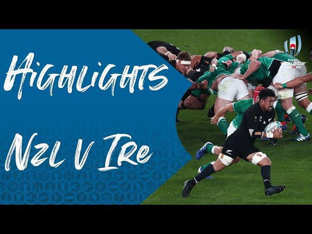 Rugby. Angleterre-Nouvelle Zélande et Pays de Galles-Afrique du sud au menu ! Les quarts en vidéo