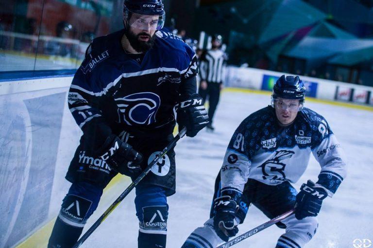 Hockey sur glace : ambiance rock'n roll chez les Corsaires de Nantes !