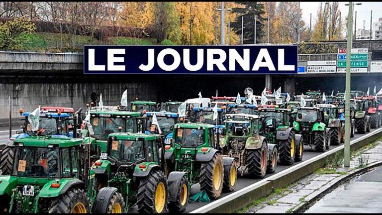 Les agriculteurs montent à Paris [Vidéo]