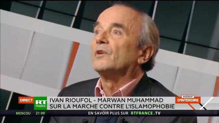 Débat explosif entre Ivan Rioufol et Marwan Muhammad sur l'islam et l'islamisme en France [Vidéo]