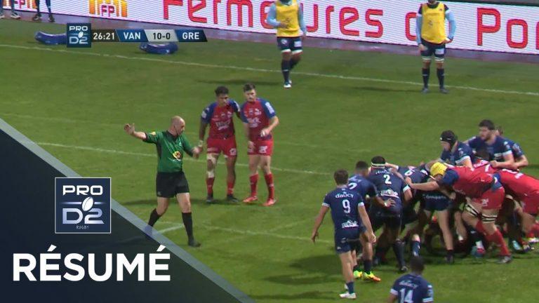 Le RC Vannes intraitable à domicile contre Grenoble [Vidéo]