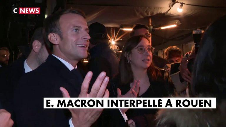 Une Rouennaise s'insurge violemment contre Emmanuel Macron [Vidéo]