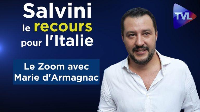 Marie d'Armagnac : Salvini, le recours pour l'Italie [Vidéo]