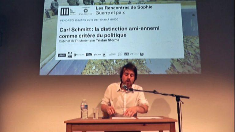 Carl Schmitt : la distinction ami-ennemi comme critère du politique [Vidéo]