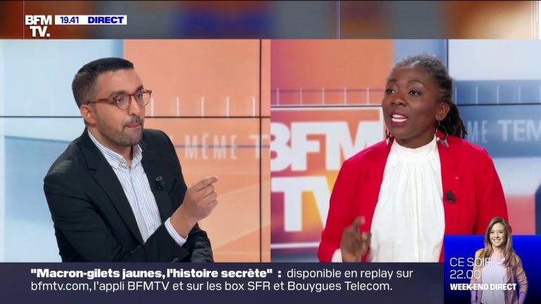 Marche contre l'islamophobie et aux côtés d'islamistes. Danièle Obono (La France Insoumise) en furie face à Amine El Khatmi [Vidéo]