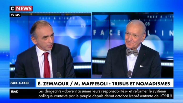 Eric Zemmour face à Michel Maffesoli sur les gilets jaunes et le populisme [Vidéo]
