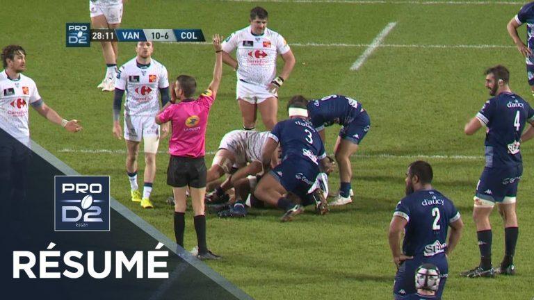 Rugby. Le RC Vannes impérial à domicile face à Colomiers (29-13)