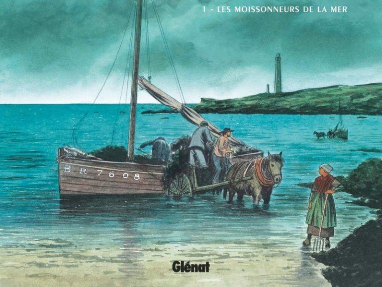 <i>L'or des marées</i>, superbe bande dessinée ethnographique sur les goémoniers bretons