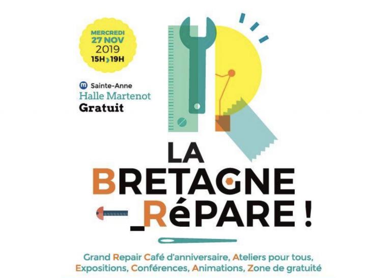 Recyclage, environnement. La Bretagne répare à Rennes, le 27 novembre