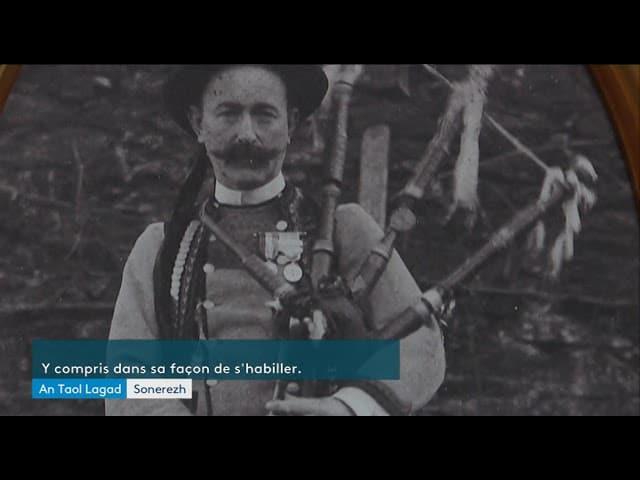Jean Guillerm, l'homme qui a apporté la cornemuse en Bretagne [Vidéo]