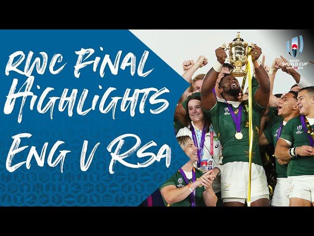 Rugby. L'Afrique du Sud remporte une Coupe du monde à oublier ! [Vidéo]