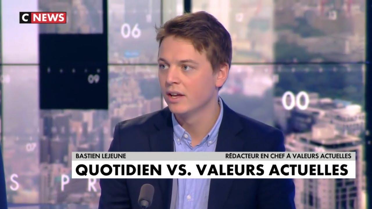 Bastien Lejeune : « Quotidien sont les rois de la manipulation » [Vidéo]