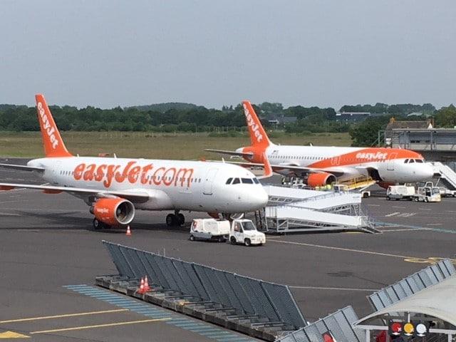 Avec une ligne à destination de Toulouse, EasyJet s'implante un peu plus à Rennes