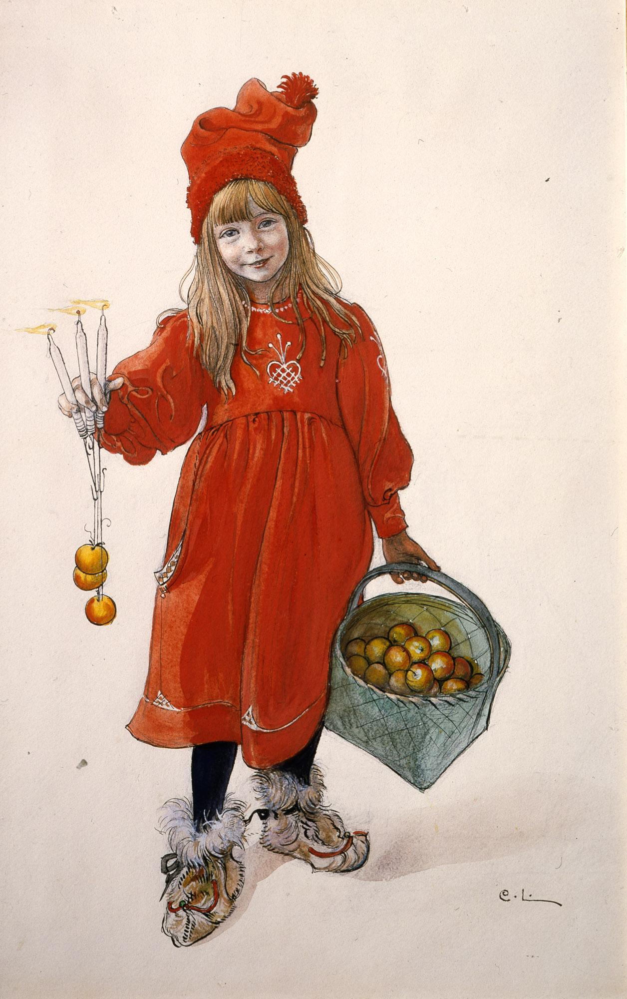 « Brita as Idun », de Carl Larsson (1900).