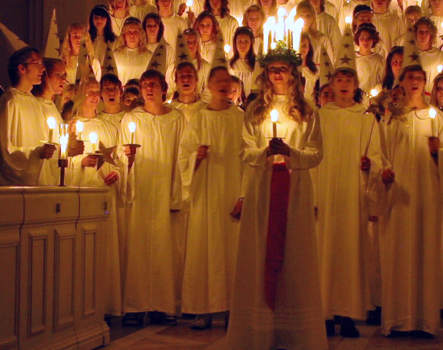 Fête de la Sainte-Lucie, 13 décembre