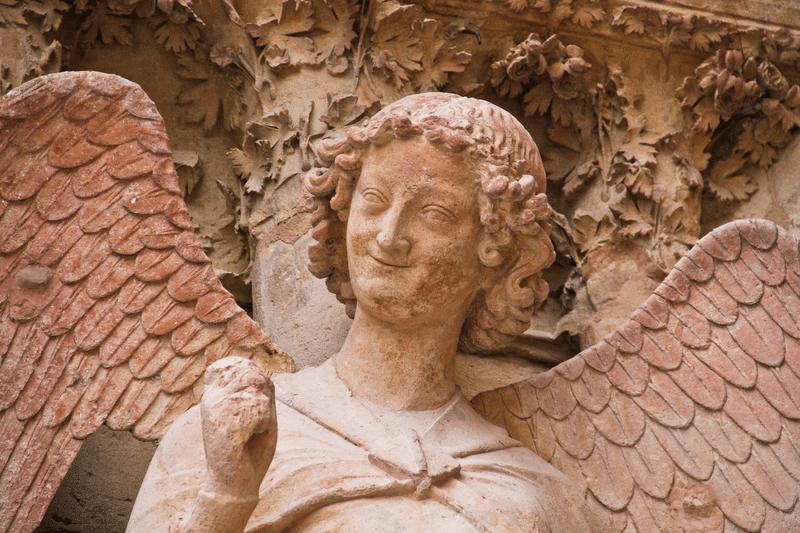 L'Ange au sourire - cathédrale de Reims