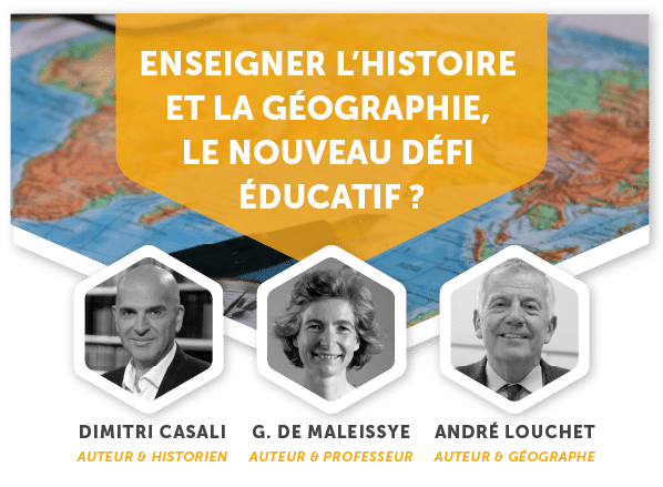 Enseigner l'histoire et la géographie : le nouveau défi éducatif ? Une conférence le 14 décembre à Paris