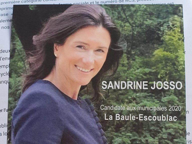 Une enquête pour « abus de confiance » ouverte contre Sandrine Josso (ex-LREM)