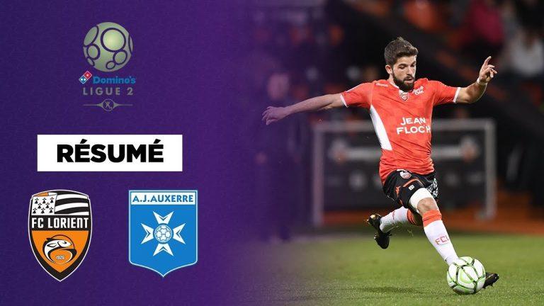 Ligue 2. FC Lorient qui rit, EA Guingamp qui pleure [ Vidéo]