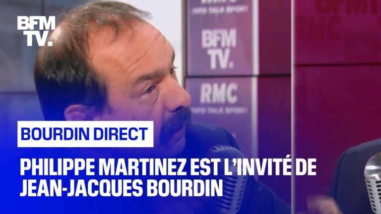 Philippe Martinez face à Jean-Jacques Bourdin [Vidéo]