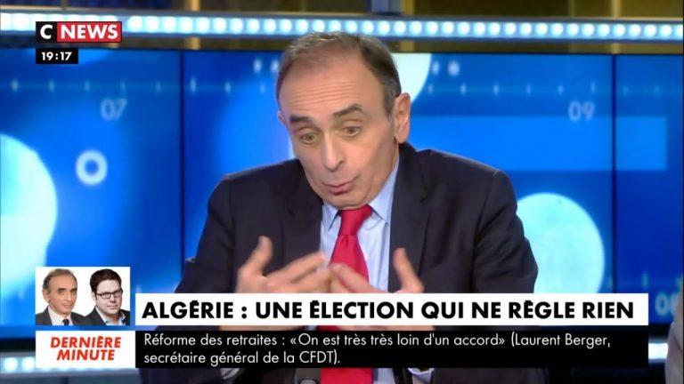 Eric Zemmour : « L'Algérie est le pays le plus mal géré du monde » [Vidéo]
