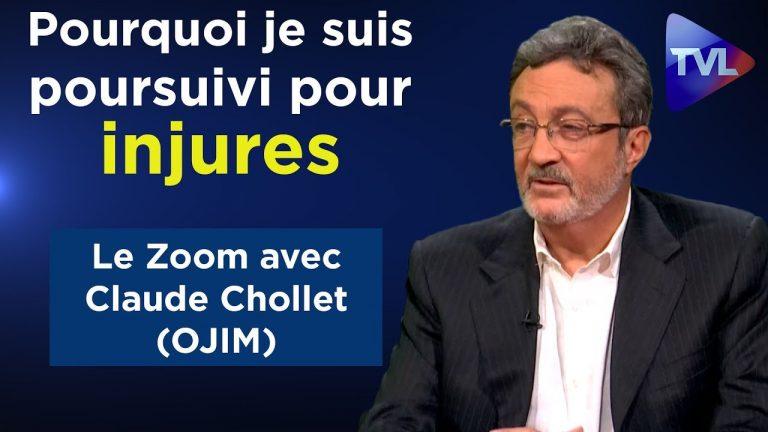 Claude Chollet (OJIM) : « Pourquoi je suis poursuivi pour injures ? » [Vidéo]