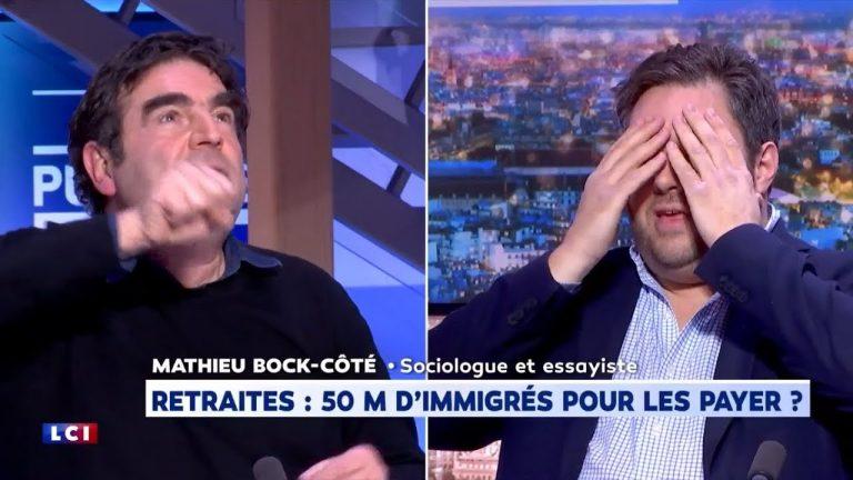 Mathieu Bock-Côté recadre magistralement Romain Goupil sur les 50 millions d'immigrés de Delevoye [Vidéo]