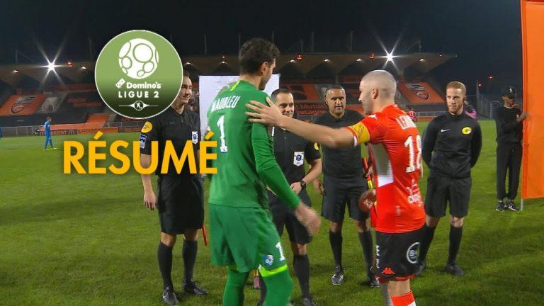 Ligue 2. Le FC Lorient poursuit sa chevauchée en tête, Guingamp stagne [Vidéo]