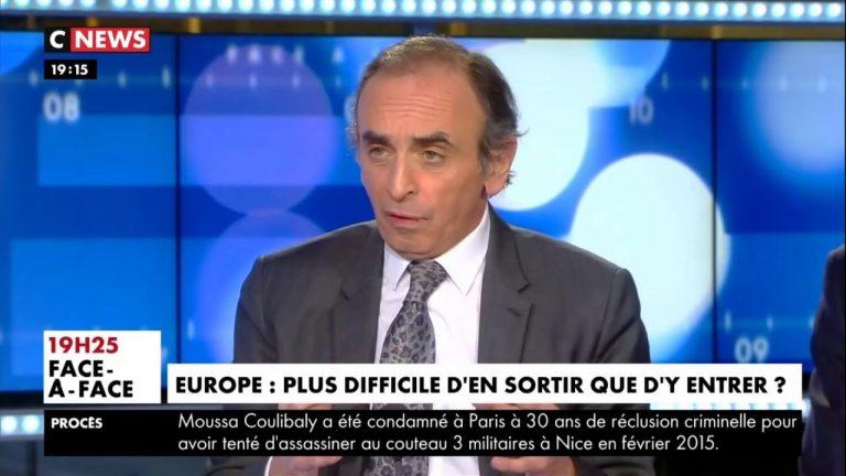 Eric Zemmour : « Bruxelles a tout tenté contre le Brexit » [Vidéo]