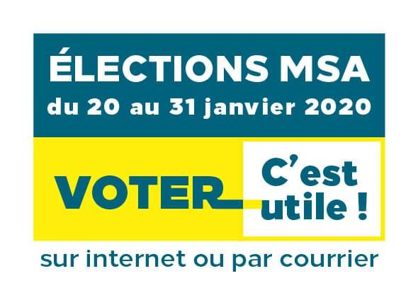 Voter pour votre délégué MSA, c'est utile!