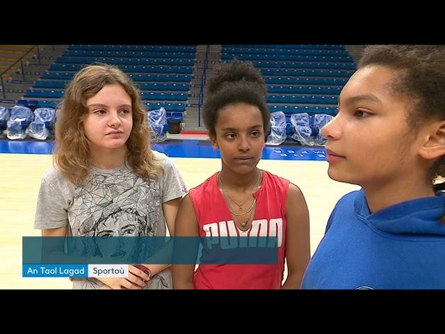 Cours de basket chez les pros pour des collégiens quimpérois