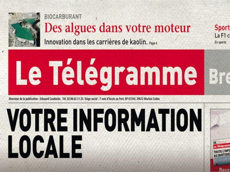 <i>Le Télégramme</i> : Samuel Petit, élève doué, peut mieux faire