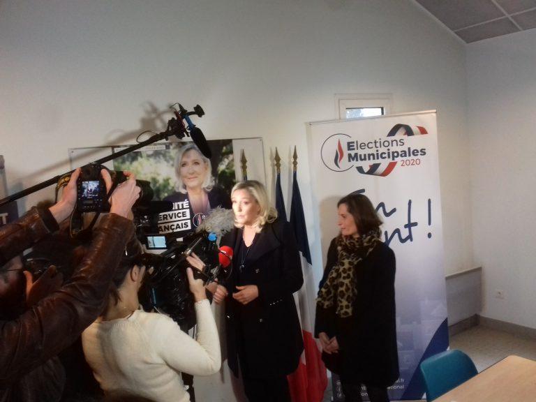 Marine Le Pen: «A Nantes il y a la double peine: l'insécurité et l'anarchie»