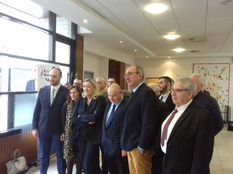 Marine Le Pen: «Les Verts ont une réelle proximité avec les milices d'extrême gauche »