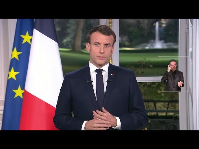 VSux d'Emmanuel Macron. « La réforme des retraites sera menée à son terme » [Vidéo]