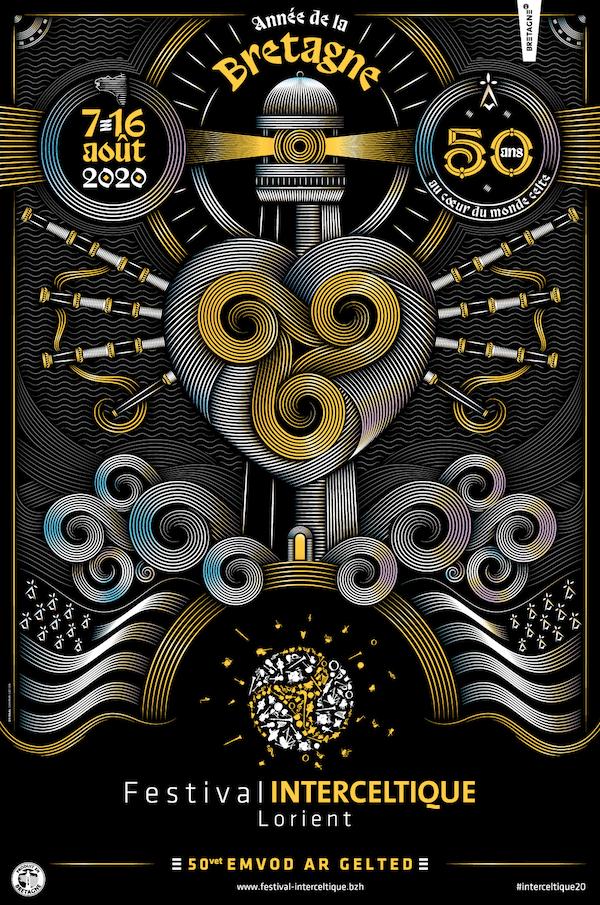 Le FIL (Festival Interceltique de Lorient) dévoile son affiche 2020