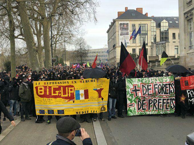 Nantes: week-end agité contre la réforme des retraites
