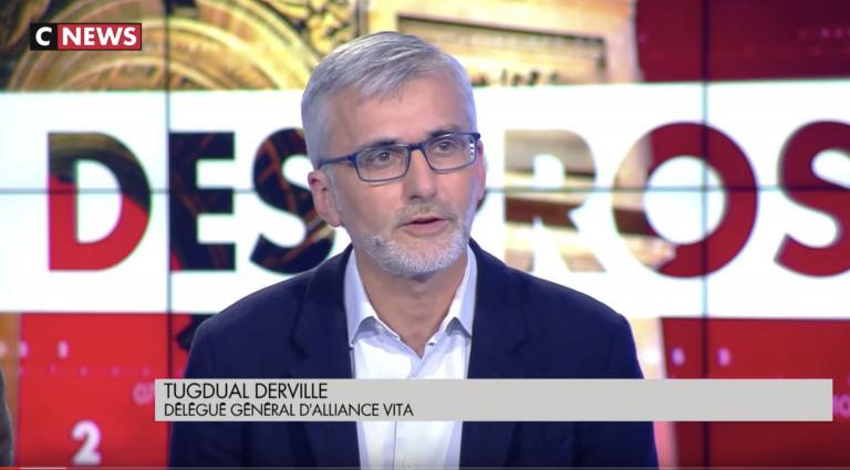 Clash entre Tugdual Derville (Alliance Vita) et une féministe favorable à la censure