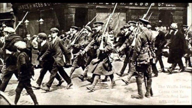 Irlande. Polémique autour d'une possible célébration officielle en hommage à la police irlandaise (RIC) et aux Black and Tans [MAJ : report]