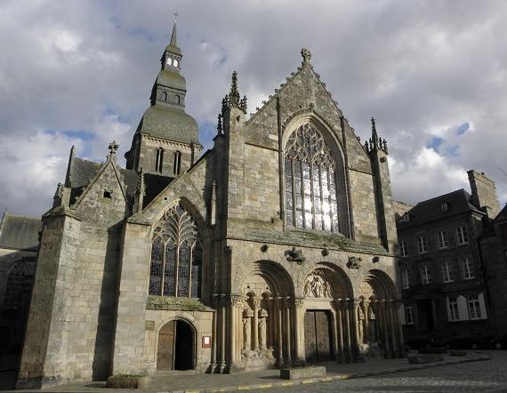 Dinan. Un chantier du début du 16ème siècle : la reconstruction de l'église Saint-Sauveur