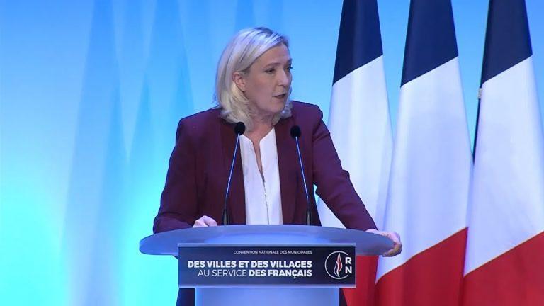 Marine Le Pen : « Ma première décision sera l'organisation d'un référendum sur l'immigration »