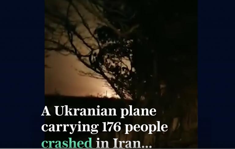 Crash d'un Boeing ukrainien en Iran : au moins 170 morts