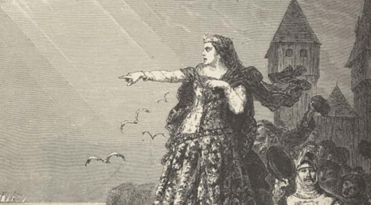 Jeanne de Montfort, dite Jeanne la Flamme