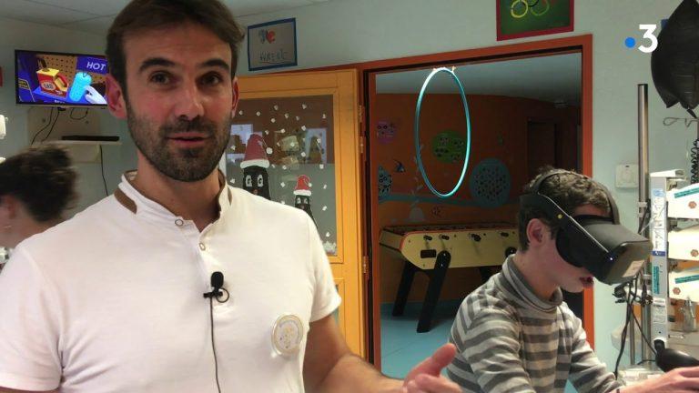 Nantes : la réalité virtuelle au chevet des enfants hospitalisés au CHU