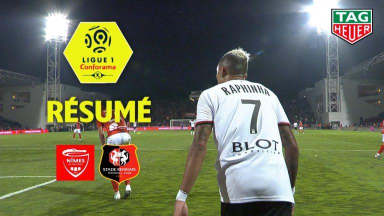 Adrien Hunou offre une précieuse victoire au Stade Rennais face à Nîmes (0-1)