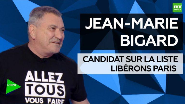 Municipales à Paris. Jean-Marie Bigard : « Ma voix est libre »