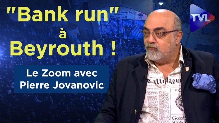Pierre Jovanovic évoque la crise bancaire qui frappe le Liban